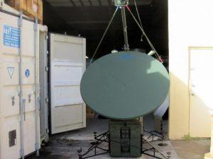 AVL 1.6M KU-Band Fly Away Mobile Antenna System