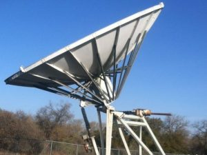 RSI 7 Meter Receive Only Earth Station Antenna