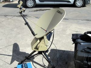 AVL-Cobham .75CM Ku-Band Flyaway antenna