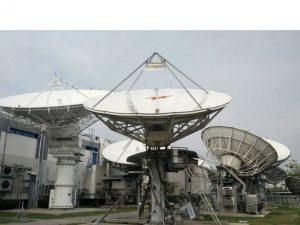 andrew 7.6M KU-band antenna