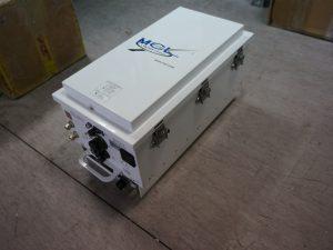 MCL Miteq 400W Ku-Band Antenna Mount TWT Amplifier-BUC, Model MT3400