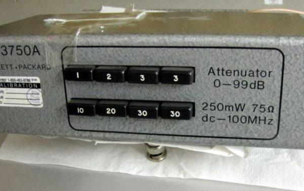 HP 3750A Attenuator 2