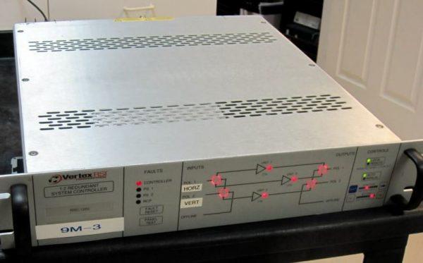 Used Vertex RSC-1200 1:2 Redundant System Controller