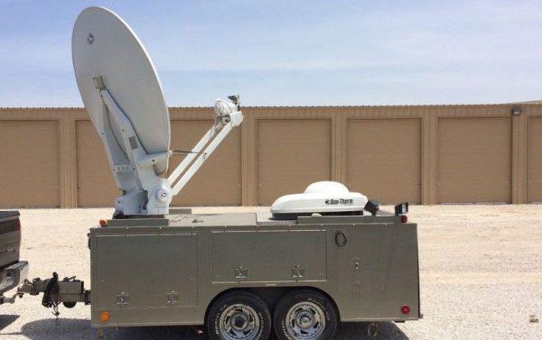 Wolf 1.8M Ku-Band Auto-Acquisition Transportable Antenna Trailer