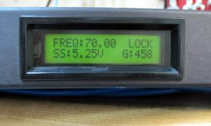 Satellite Systems Corporation 3470 Beacon Tracking Receiver
