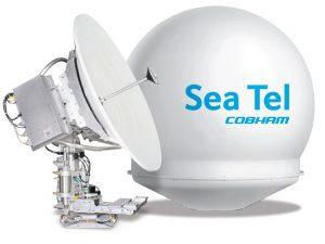 SeaTel Cobham 4012 GX Maritime VSAT Antenna System