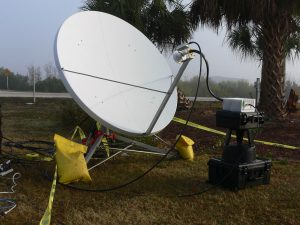 GD Satcom 1.8M Multi Feed Quick Deploy Transportable Antenna System