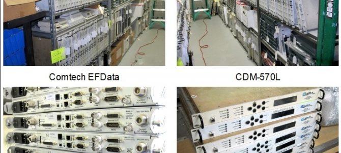 Comtech CDM-570L Modems