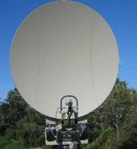 Mil STD 3.8M Clamshell Antenna System