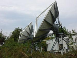 ViaSat 6.1M 4-Port Ku-Band Motorized Earth Station Antenna
