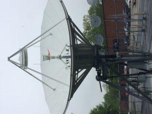 CPI ASC-Signal 6.5 meter C-Band Uplink Antenna System