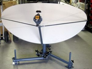 rodelin .95 Elliptical flyaway Antenna