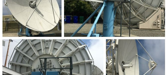 Vertex 6.1M 4-Port Ku-Band Earth Station Antenna