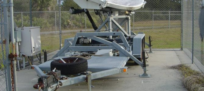 Andrew ASC-Signal 3.7M Ku-Band Transportable Antenna System with Trailer