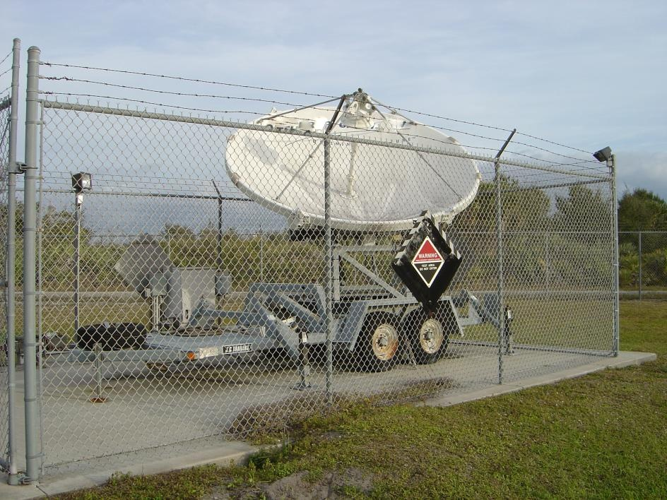 ASC 3.7M Ku-Band Transportable Antenna System with Trailer