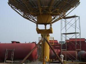 Probecom 6.2M Ku-band Earth Station Antenna